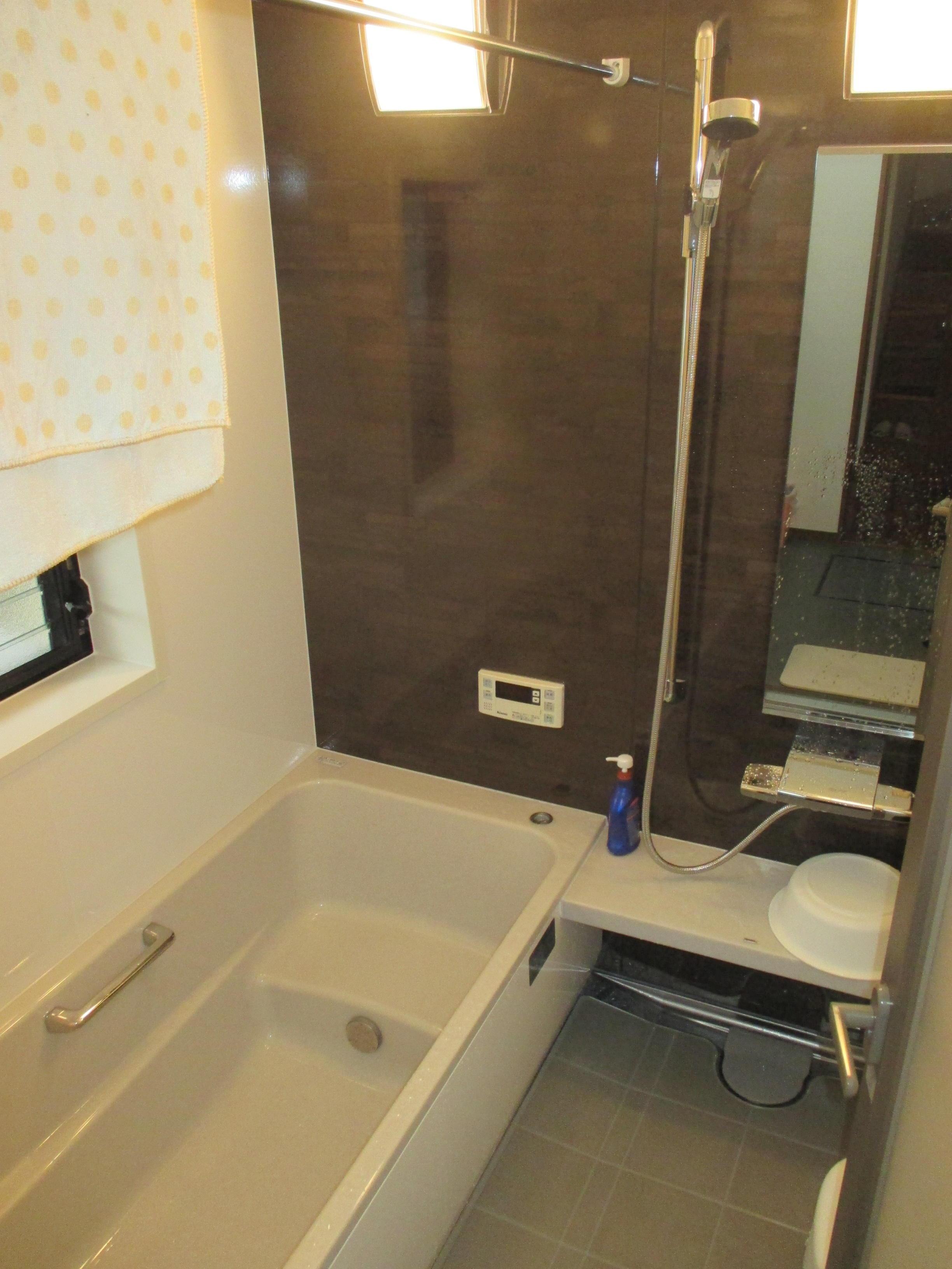 浴室乾燥機でカラっと乾く 浴室リフォーム
