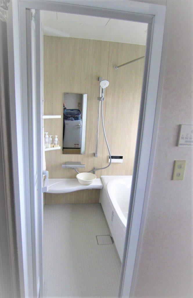 断熱もして冬も暖かい 浴室リフォーム