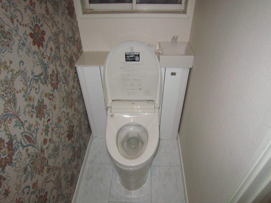 トイレもお洒落に トイレリフォーム