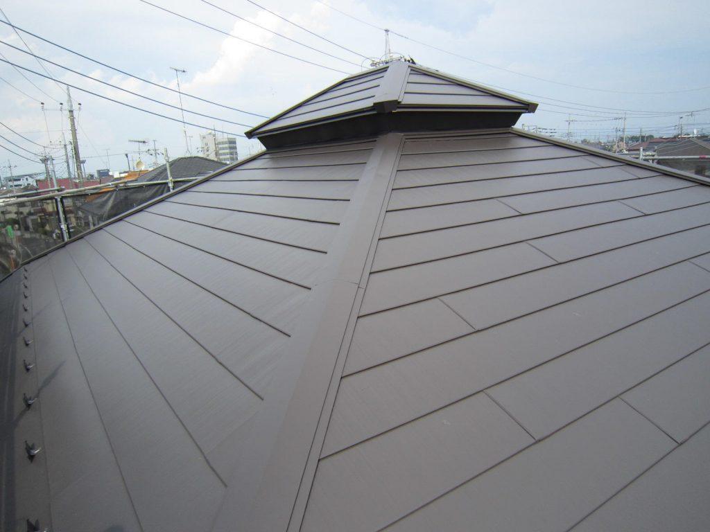 新築みたいに変わりました 外壁屋根塗装
