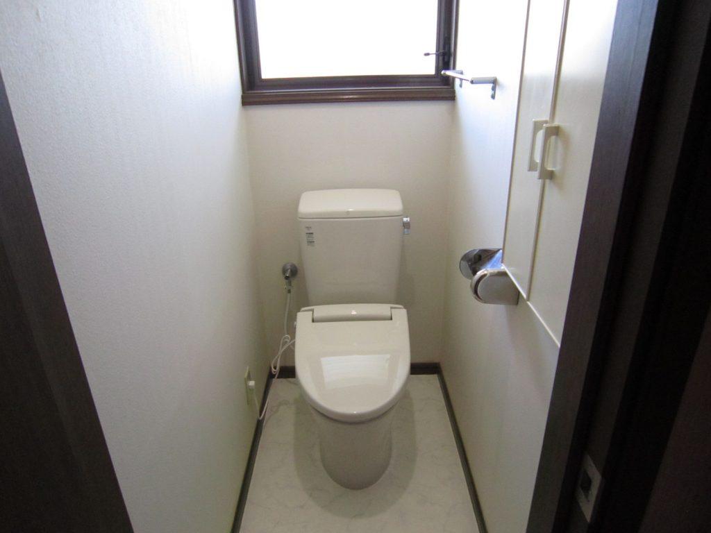 快適な空間に「トイレ交換工事」