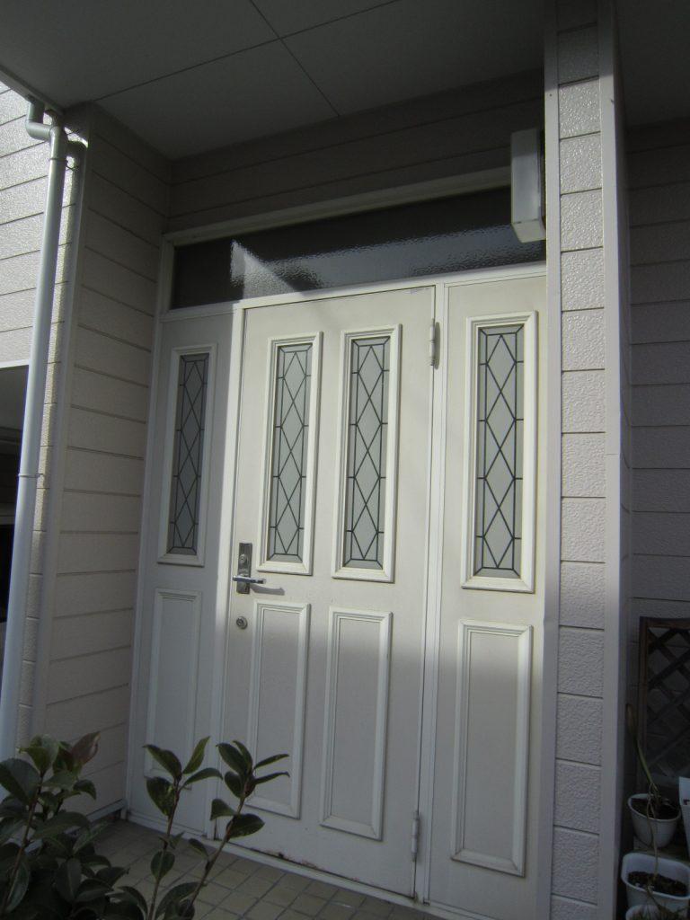 自宅の入り口を一新『玄関リシェント工事』