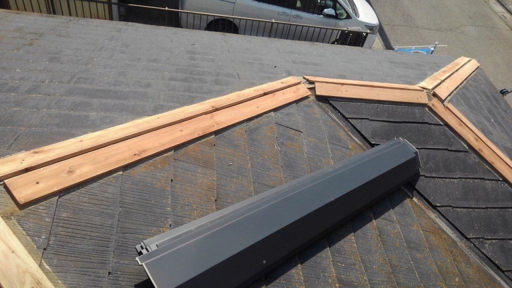 見えないところのメンテナンス『屋根板金工事』