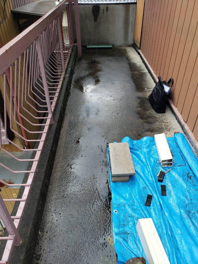 安心快適な暮らしを『バルコニー防水工事』