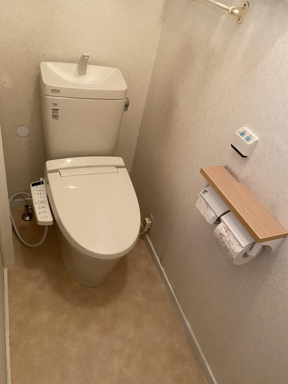 掃除の手間を解消 『トイレ工事』