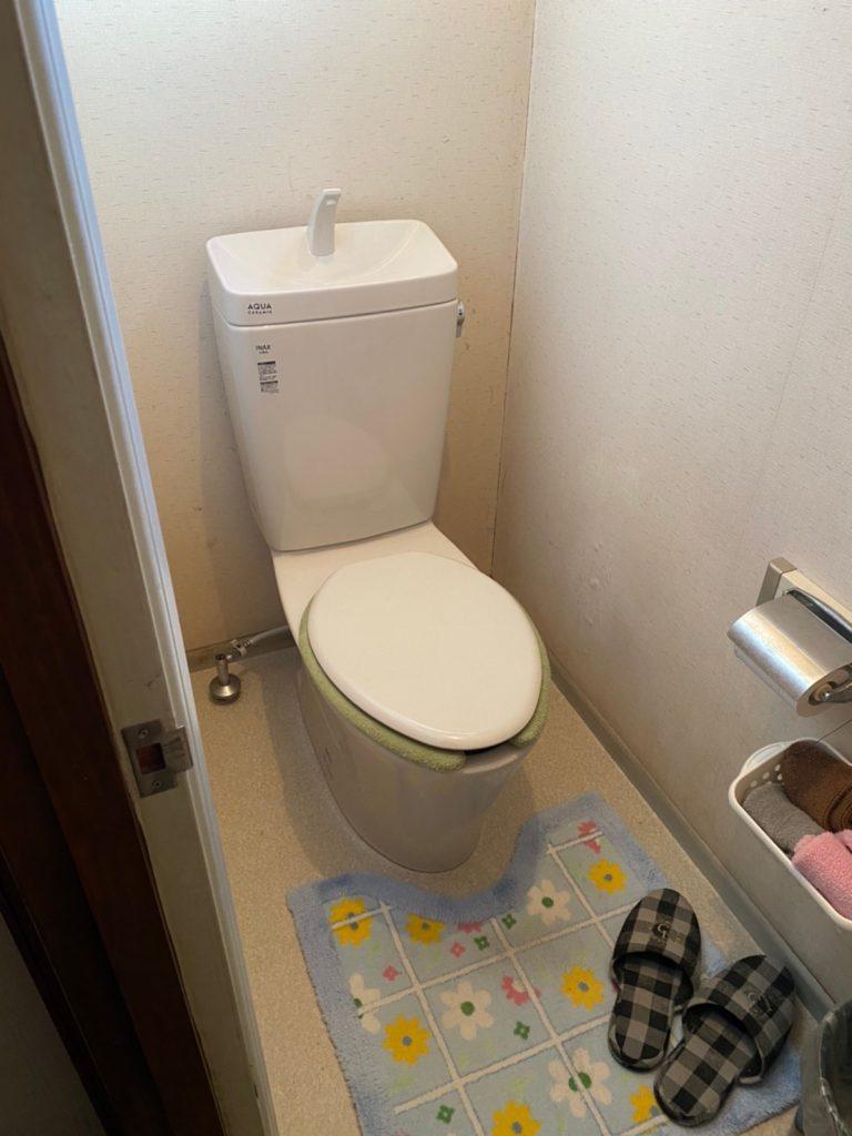 デザインを一新 『玄関リシェント・トイレ工事』