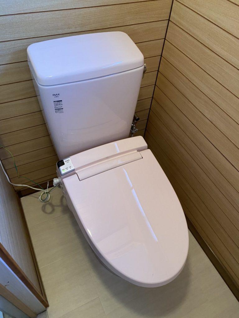 これからの対策も兼ねて『トイレ改装工事』