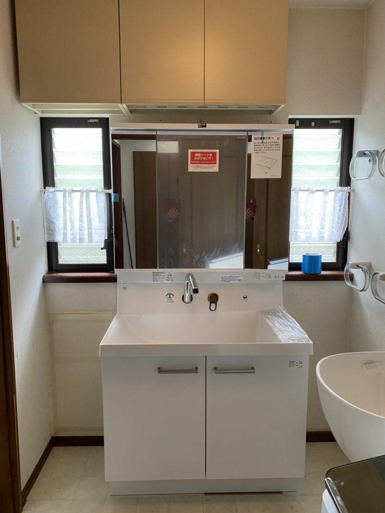 清掃性や便利性も向上します 『トイレ・洗面リフォーム工事』