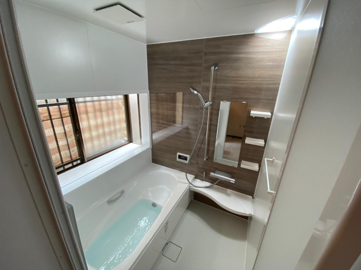 シンプル仕様だけどオシャレに『浴室・洗面リフォーム』