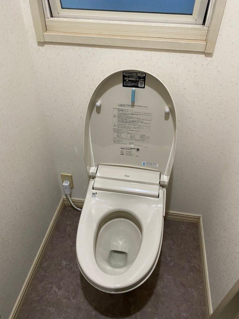 日頃のお手入れ手間軽減『トイレ改修工事』