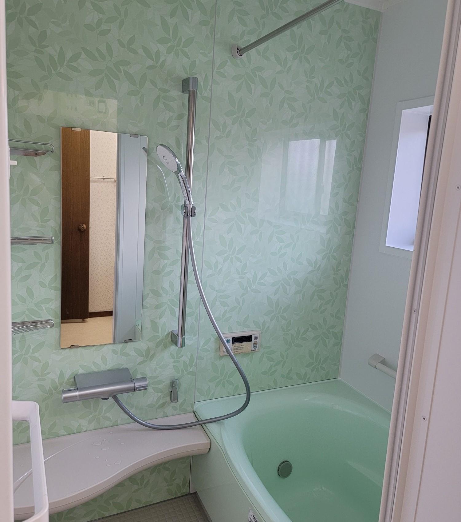従来よりもオシャレに『浴室改修工事』